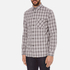 rag & bone Men's Beach Buttoned Shirt - Grey Check: Image 2