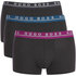BOSS Hugo Boss Men's 3 Pack Trunks - Black: Image 1