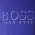 BOSS Hugo Boss Men's Large Logo T-Shirt - Medium Blue: Image 5