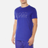 BOSS Hugo Boss Men's Large Logo T-Shirt - Medium Blue: Image 2