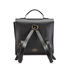 The Cambridge Satchel Company Men's Bridge Closure Backpack - Black: Image 5