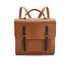 The Cambridge Satchel Company Men's Bridge Closure Backpack - Vintage/Dark Brown: Image 1