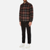 A.P.C. Men's Trevor Checked Shirt - Noir: Image 4