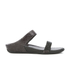 FitFlop Women's Banda Crystal Imi-Snake Slide Sandals - Black: Image 1