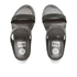 FitFlop Women's Banda Crystal Imi-Snake Slide Sandals - Black: Image 3