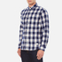 Penfield Men's Pearson Check Shirt - Navy: Image 2