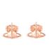 Vivienne Westwood Jewellery Women's Lorelei Stud Earrings - Pink Gold: Image 1