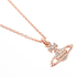 Vivienne Westwood Jewellery Women's Mayfair Bas Relief Pendant - Crystal: Image 3