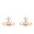 Vivienne Westwood Jewellery Women's Mayfair Bas Relief Earrings - Crystal: Image 1
