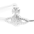 Vivienne Westwood Jewellery Women's Grace Bas Relief Bangle - Crystal: Image 2