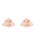 Vivienne Westwood Jewellery Women's Farah Earrings - Pink Gold: Image 1