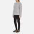 Helmut Lang Women's Heavy Loop Back Terry Jumper - Dark Heather: Image 4