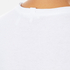 Helmut Lang Women's Medium Weight Cotton Jersey Slash Hem T-Shirt - White: Image 5