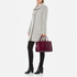 Aspinal of London Women's Brook Street Croc Tote Bag - Bordeaux Croc: Image 2
