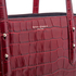 Aspinal of London Women's Regent Croc Tote Bag - Bordeaux: Image 8