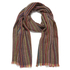 Paul Smith Accessories Men's Stripe Herringbone Scarf - Multi: Image 1
