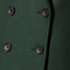 PS by Paul Smith Women's Double Breasted Wool Cashmere Coat - Green: Image 5