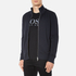 BOSS Orange Men's Zissou Zipped Sweatshirt - Dark Blue: Image 2