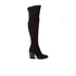 Kendall + Kylie Women's Portia Suede Thigh High Boots - Black: Image 1