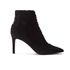 Kendall + Kylie Women's Liza Valeria Elastic Heeled Ankle Boots - Black: Image 1