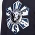 Versus Versace Men's Large Logo Crew Sweatshirt - Blu-Stampa: Image 5