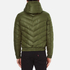 Versus Versace Men's Hooded Down Jacket - Verde: Image 3