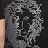 Versus Versace Men's Large Lion Logo T-Shirt - Black Stampa: Image 5