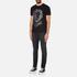 Versus Versace Men's Large Lion Logo T-Shirt - Black Stampa: Image 4