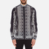 Versus Versace Men's Printed Long Sleeve Shirt - Black/White: Image 1