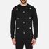 Versus Versace Men's Embellished Crew Sweatshirt - Black: Image 1