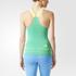 adidas Women's Stellasport Gym Tank Top - Blue/Green: Image 3