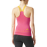 adidas Women's Stellasport Gym Tank Top - Orange/Pink: Image 3