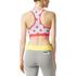 adidas Women's Stellasport Printed Gym Bra - White/Pink: Image 3