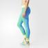 adidas Women's Stellasport Gym Tights - Green: Image 2