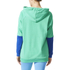 adidas Women's Stellasport Long Gym Hoody - Green/Blue: Image 3