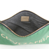Clare V. Women's Flat Clutch Bag - Emerald Nappa With Blush Cervezafria: Image 5