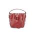 SALAR Women's Tala Small Bucket Bag - Bordeaux: Image 7