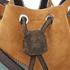 SALAR Women's Tala Small Edges Bucket Bag - Tan/Multi: Image 4