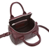 Alexander Wang Women's Mini Rockie Bowler Bag with Silver Hardware - Beet: Image 5