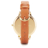 Olivia Burton Women's Flower Show Watercolour Watch - Tan Gold: Image 2