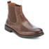 Clarks Men's Faulkner On Leather Chelsea Boots - Tan: Image 2