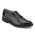Clarks Men's Swinley Cap Leather Toe Cap Shoes - Black: Image 2