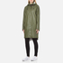 Ilse Jacobsen Women's Light True Rain A Line Coat - Army: Image 2