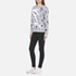 KENZO Women's Dandelion Print and Logo Sweatshirt - Pale Grey: Image 4