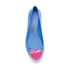 Jeremy Scott for Melissa Women's Space Love Ballet Flats - Blue Contrast Heart: Image 3