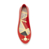 Vivienne Westwood for Melissa Women's Space Love 16 Ballet Flats - Red Orb: Image 3