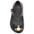 Mini Melissa Vivienne Westwood Toddlers' Ultragirl 16 Ballet Flats - Black Orb: Image 3