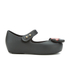 Mini Melissa Toddlers' Ultragirl Minnie Mouse 16 Ballet Flats - Black: Image 1
