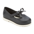 Mini Melissa Toddlers' Classic Bow Flats - Black: Image 2