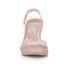Vivienne Westwood for Melissa Women's Lady Dragon 16 Peep Toe Heeled Sandals - Nude Cherub: Image 4